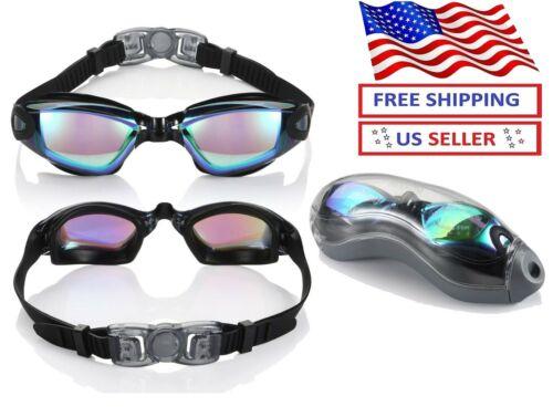Multi-Choice Clear Comfortable Swimming Goggles with UV- Anti-Fog Swim Glasses