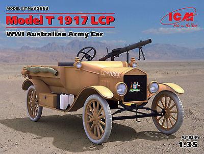 ICM 35663 WWI Australian Army Car Model T 1917 LCP in 1:35
