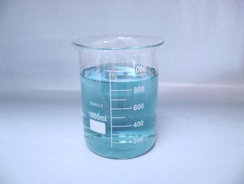 Beaker 1000mL Griffin Graduated Borosilicate Glass beaker New