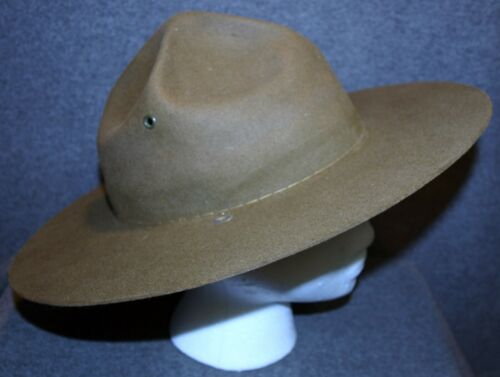 BSA CAMPAIGN HAT…SCOUTMASTER MODEL…PRE 1954 - LABELED NATIONAL COUNCIL, NEW YORK