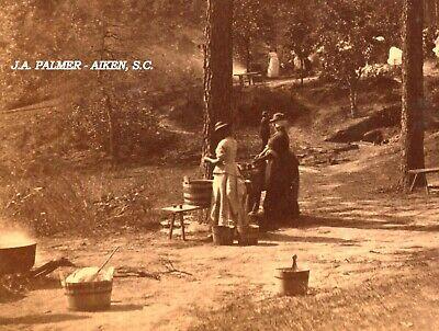 "S.C. ""Washing Camp"" by J.A. Palmer of Aiken South Carolina. #430."