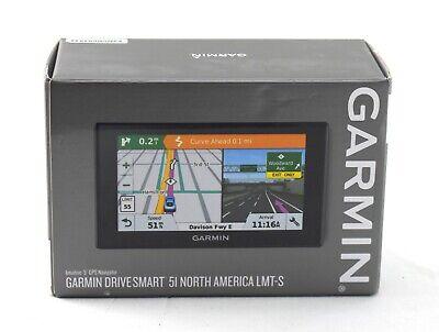 "Garmin DriveSmart 51 LMT-S 5"" GPS with Built-In Bluetooth 010-01680-02 | 5414sw"