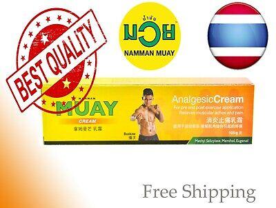 Muscle Pain Relief Namman Muay Thai Boxing  Analgesic Cream 100g
