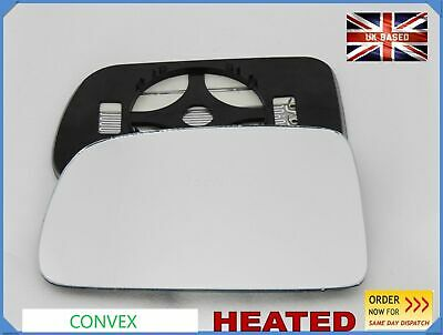 Right Driver side Wide Angle wing mirror glass for Honda HRV CRV 1996-06 heated