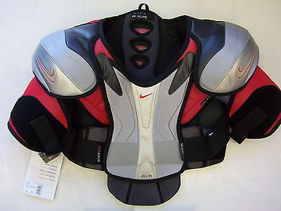 New Nike Air V11 hockey shoulder pads sr XL senior brand with tags mens vtg ice