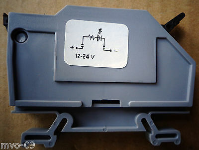 Euro S4lh 500v Automationdirect Dinnectors Grey Terminal Block New