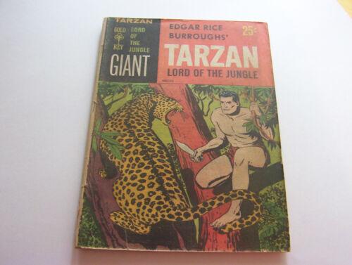 TARZAN LORD OF THE JUNGLE COMIC #1 1965  SMOOTH VINTAGE COPY  FINE