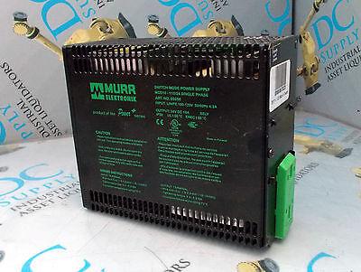 MURR ELEKTRONIK 85086 SINGLE PHASE 120 V 50/60 HZ SWITCH MOSE POWER SUPPLY - 120v 60hz Single