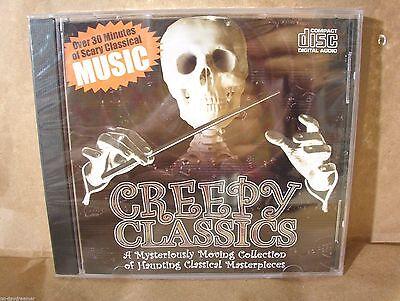 CREEPY CLASSICS * Various Artists [HALLOWEEN] BRAND NEW (2006/Madacy) - Chanson Halloween