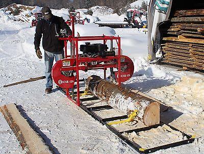 2019 Hud-son Forest Portable Sawmill Oscar 428 Bandmill