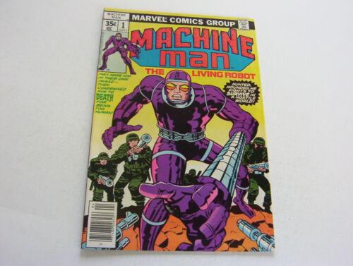 MACHINE MAN COMIC  #1  APRIL 1978  SILKY SMOOTH LUSCIOUS COPY  VERY FINE+