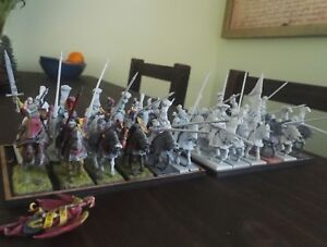 Warhammer Age of Sigmar Empire Reiksguard Knights x23 plus Old metal Mage