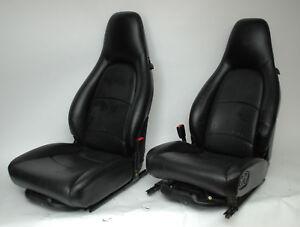 Porsche 993 Seats Black Recaro