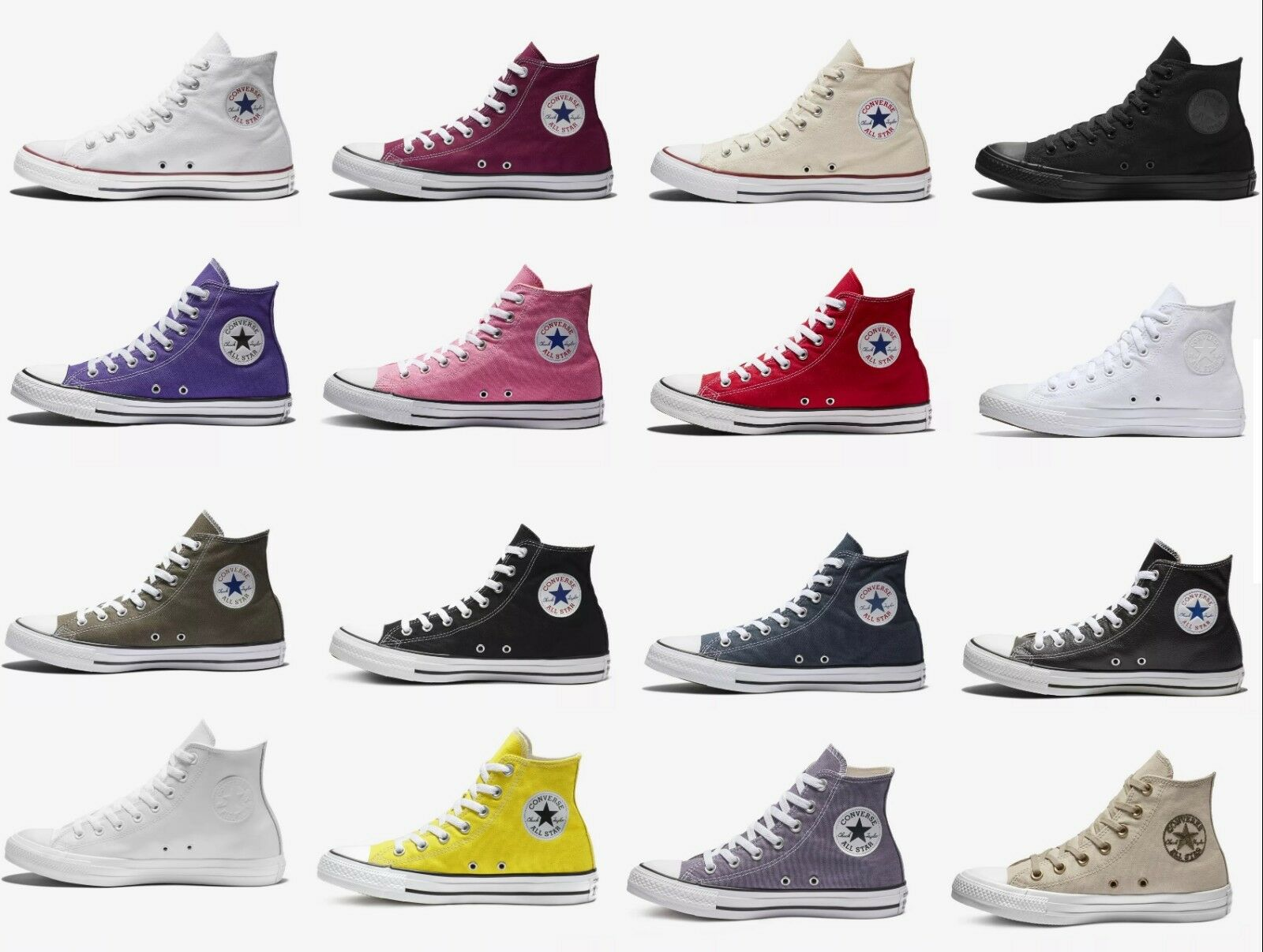 9f9e0743adfb Пара мужских высоких кроссовок NEW Converse Chuck Taylor All Star High Top  Canvas Casual Sneakers Unisex Shoes