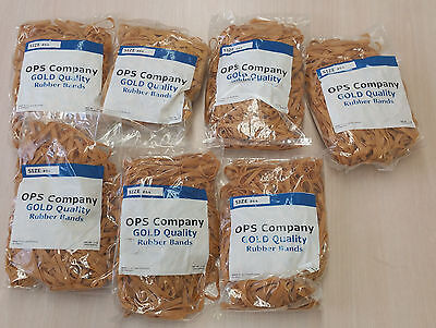 Lot Of 7 Bags Of Rubber Bands Net Wt 1 Lbbag 135 Total Of 7 Lbs