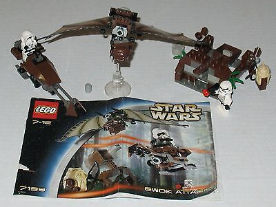 LEGO Star Wars 7139 Ewok Attack Complete with 4 Minifigures & Instructions