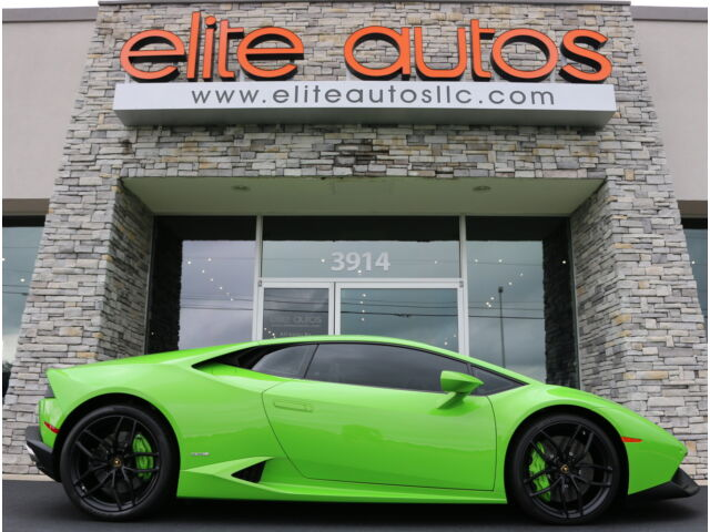 lambo huracan verde mantis paint navigation contrast stitching 20in wheels lp610