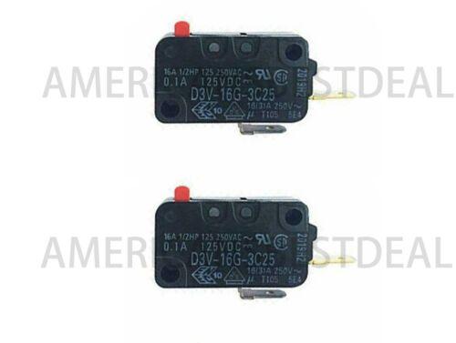 2 PK D3V-16G-3C25-K Omron Action Switches Miniature Basic Switch
