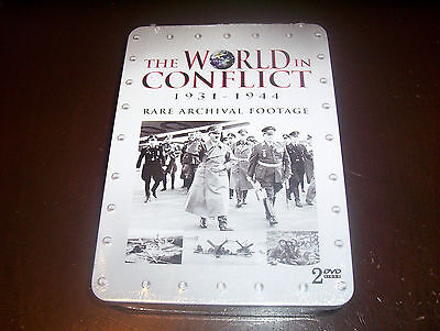 The World In Conflict World War Ii Nazi Germany Allies Japan Axis Dvd Set New