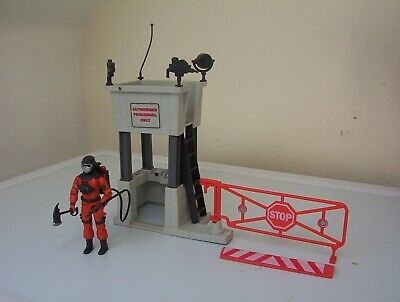 vintage Action Force/G.I.JOE BARBECUE figure & CHECKPOINT ALPHA.