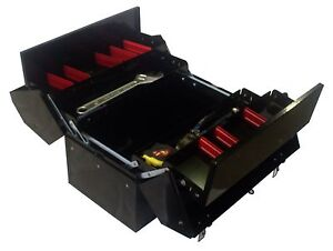 459mm Cantilever Tool Box Black Finish Tradies Storage Toolies Sandgate Newcastle Area Preview