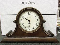 BULOVA - NEW MANTEL CLOCK WITH HARMONIC CHIMES ASHEVILLE B1514