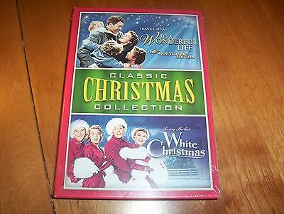 Paradigmatic CHRISTMAS COLLECTION It A Wonderful Life White Christmas DVD SET NEW