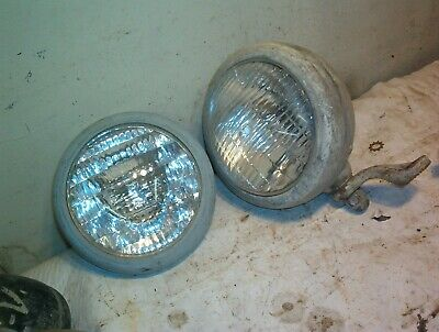 Tractor Headlight Fog Driving Ford Oliver Case 5 14 Bulb Parts