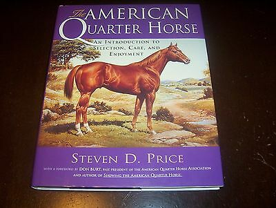 Used, THE AMERICAN QUARTER HORSE Horses Care Selecting Racing Riders Owners Book NEW for sale  Canton