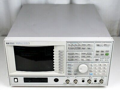 Hp 89410a Vector Signal Analyzer Power Tested For Parts Or Repair Only As Is