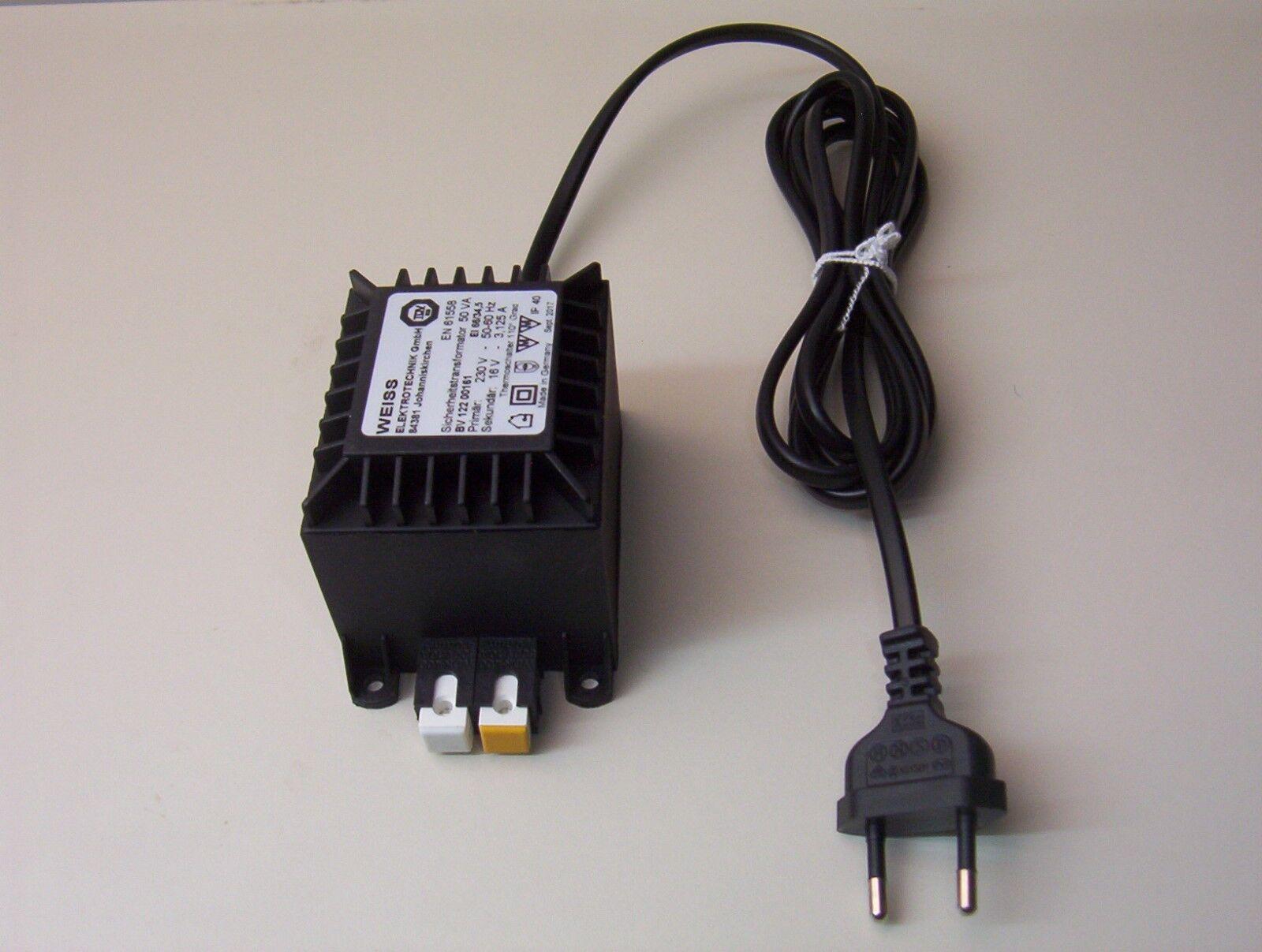 3787B Spur N Arnold 7098 Digitaltechnik Leistungstrafo 50 VA 16V Wechselstrom
