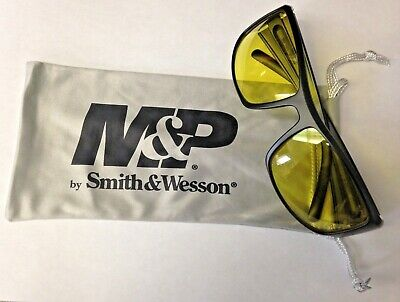 Smith Wesson Mp101-41-id Performance Eyewear Shooting Glasses Amber Lens