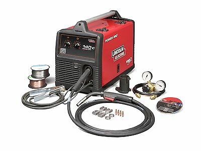 Lincoln Power Mig 140c Mig Welder Package K2471-2