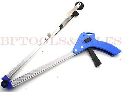 "32"" Folding Grabber Pick Up Tool Reacher Extend Easy Reaching Stick Trash Stick"