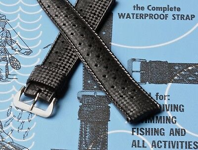 Slightly imperfect Swiss dive watch strap NOS for Rolex Submariner 5513 GMT 1675