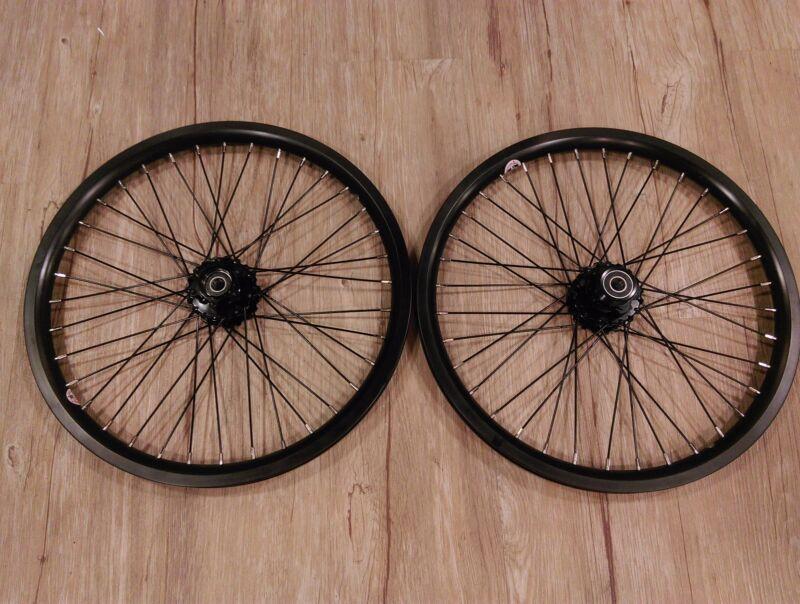 "Strida 18"" wheel set - black"