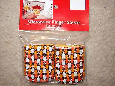 Penguins-Cotton-Microwave Oven Mitts-Hot Pads-Pot Holder-Pat