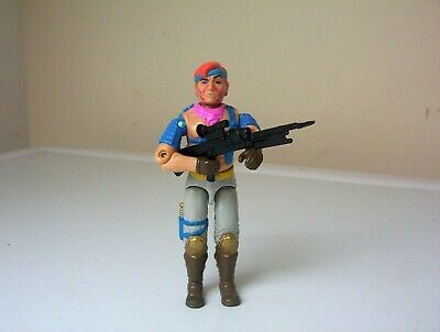 vintage Action Force/G.I.JOE ZANDAR figure complete.