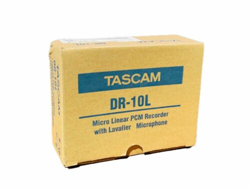 NEW Tascam DR-10L Mono Portable Digital Audio Recorder + Lavalier Mic + Case
