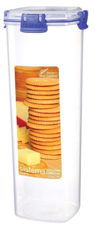 Cracker Keeper Tupperware Container Plastic Box Storage Save
