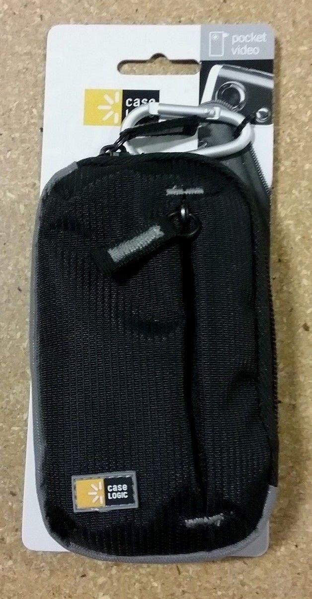 Case Logic TBC-312 Pocket Video Camcorder Case with Storage