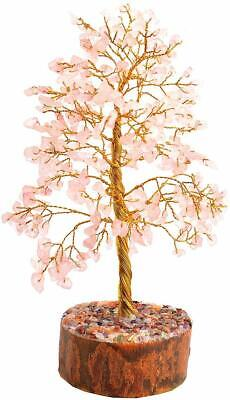 Rose Quartz Stone Healing Gemstone Tree Office Home Table Décor Feng Shui Spirit Gemstones Spirit Stone