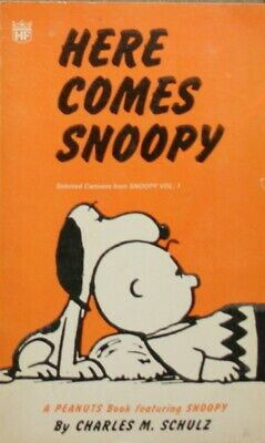 Schulz, Charles M., Here Comes Snoopy (Coronet Books), Mass Market Paperback, Ve