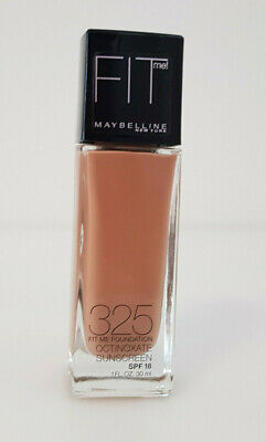 Maybelline Fit Me! Make Up Liquid  Foundation 325 Cream Beige Neu