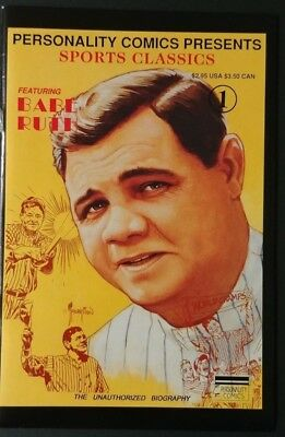 Personality Comics Presents Sports Classics featuring Babe Ruth #1