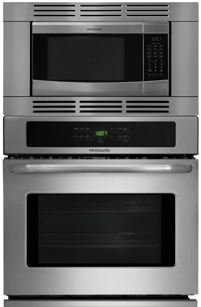 "Frigidaire 27"" 3 Piece Stainless Steel Electric Wall Oven Mi"