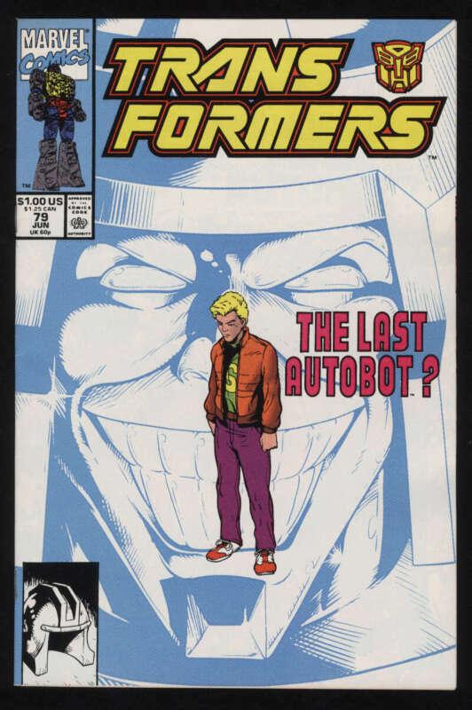 Transformers #79 NM- 9.2 White Pgs Marvel Comics