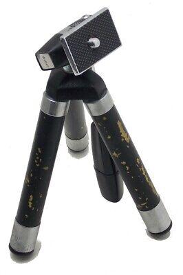 "Vintage Vivitar Camera Tripod 6137 Tilt Pan Head Compact Tripod 7.25""-42 Used"