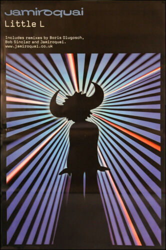 Jamiroquai poster - Little L - Original promo poster