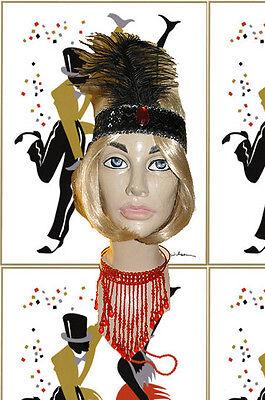 Charleston Kette Coco Gatsby Kleid Swinging Twenties Flapper (Roaring 20s Kleider)